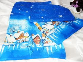 Полотенца кухонные из х/б ткани